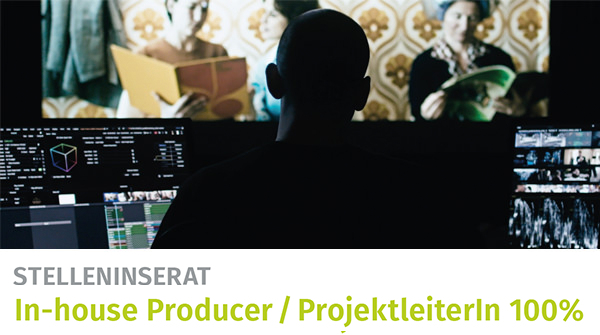 cg stelleninserat inhouse producer